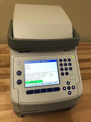 Eppendorf 6333 Mastercycler Nexus Flexlid with 96 Well Thermal Cycler Unit