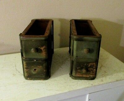 Antique Treadle Sewing Machine CABINET DRAWERS IN FRAMES  Repurpose**Convert