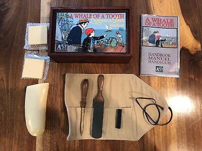 Authentic Models Engrave A tooth Scrimshaw Kit