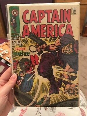 Captain America, Vol 1, No 108 Issued 1968 *open to offers*