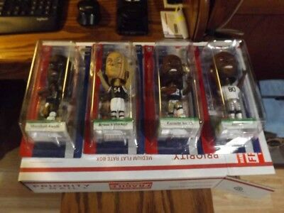 2002 NFL Edition Football Bobbles by Upper Deck with Collectible Card Included