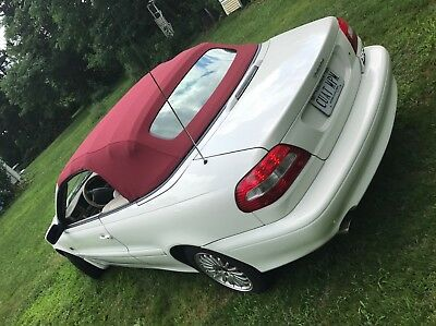 2004 Volvo C70  2004 Volvo C70 Convertible, white, red top, 53,430 miles, no reserve NR LT Turbo
