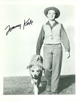 Movies Photographs 2019 New Style Tommy Kirk Signed Photo Coa Disney Old Yeller
