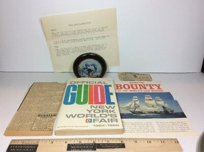 Vtg NY New York City Worlds Fair Official Guide Book 1964-1965 TIME-LIFE BOOKS