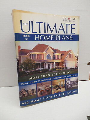 Ultimate Book Of Home Plans Blueprints Guide Color Photos Southwest Traditional
