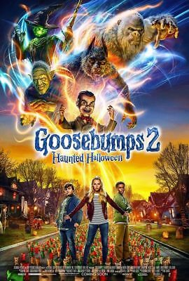 "2018 New Film Goosebumps 2 Haunted Halloween Movie Poster 13x20"" 24x36"" 27x40"""