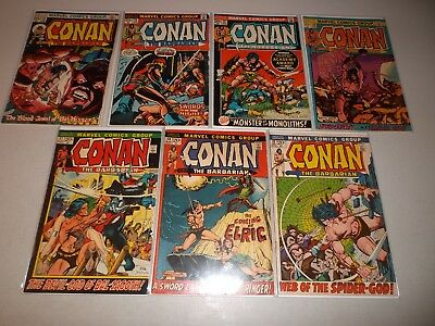 Conan the Barbarian #13-27 (Lot of 7) 13 14 17 19 21 23 1st Red Sonja Key 27