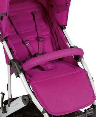 Mamas & Papas LUNA HOT PINK REPLACEMENT PUSHCHAIR SEAT FABRIC & HARNESS NEW