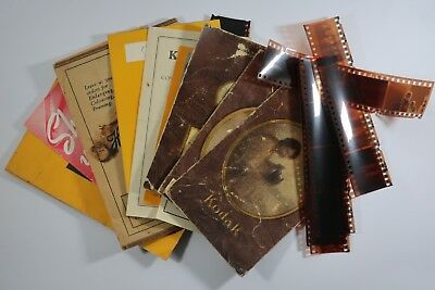Large lot of Aust photography negatives and Early Kodac folders SNK719