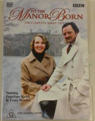 TO THE MANOR BORN - Series 2 2 x DVD Set AS NEW! Complete Second Season Two