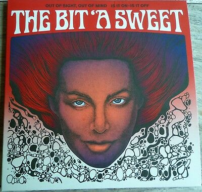 "The Bit ' A Sweet- Out of sight Out of Mind-Is it On Is it Off. 7"" vinyl."