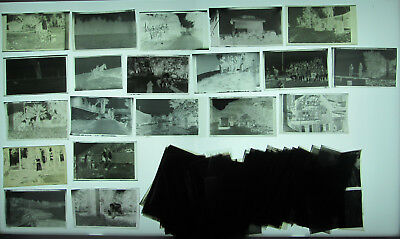 1930s 1940s Photo Negatives Mixed Lot About 200 B&W People Kids Babies Travel