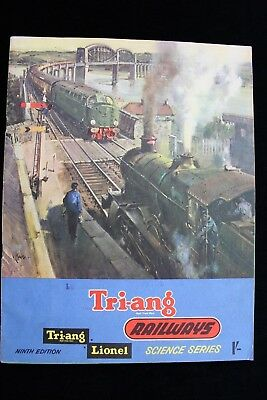 Triang Railways /lionel Science Series Ninth Edition Catalogue 1963  Price List.