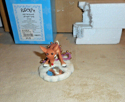 Enesco Rudolph &The Island of Misfit Toys Let Your Light Shine 1999  s20