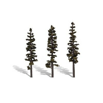 "Woodland Scenics TR3563 Standing Timber Pine Trees 7"" - 8"" (3) Classics Tree"