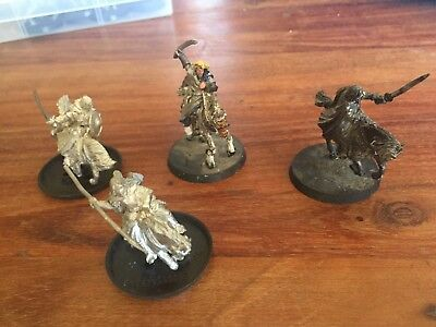 GW Lord of the Rings Mounted Heroes x 4