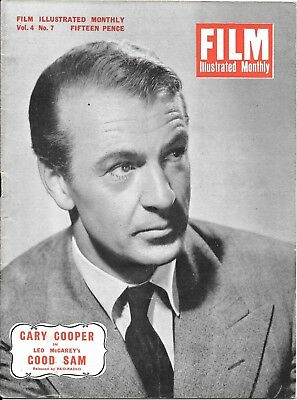 vintage Film Illustrated monthly magazine Vol 4 No 7 Danny kaye late 1950's?
