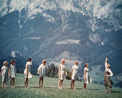 Sound Of Music Julie Andrews And Kids  8x10 Photo Print