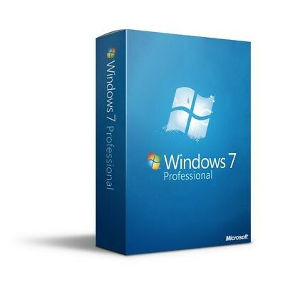 Windows 7 Professional 32bit & 64bit ISO Digital Download (No Product Key)