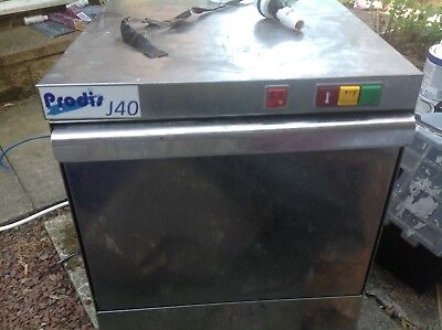 Glasswasher - Prodis J40 (gravity drain). VAT INC