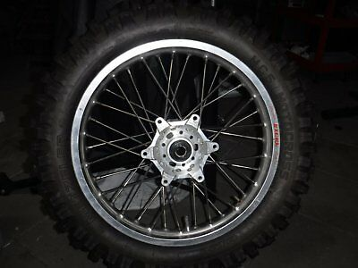 Husaberg KTM Excel 18 rear wheel and tyre