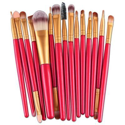 15pcs Makeup Brush Set tools Make-up Toiletry Kit Make Up Brush Set