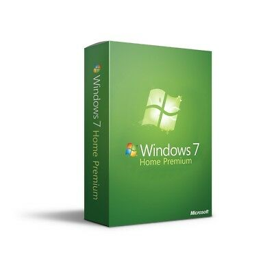 Windows 7 Home Premium 32bit & 64bit ISO Digital Download (No Product Key)