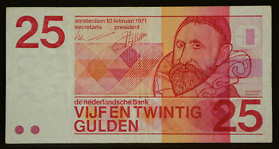 Netherlands 25 gulden 1971 Sweelinck PL69.b2