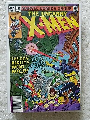 X-Men # 128 VF- Bronze Age Nice copy!