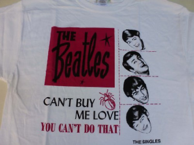 Beatles-Can T Buy Me Love  Tshirt NUOVO