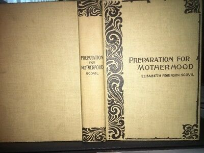 1896 Preparation For Motherhood By Elisabeth Robinson Scovil Supt Newport Hosp