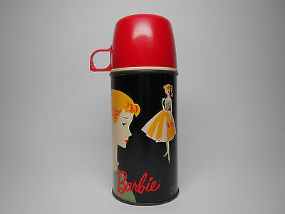 Vintage Original 1962 Mattel Barbie King Seeley Glass Thermos 2025H Complete