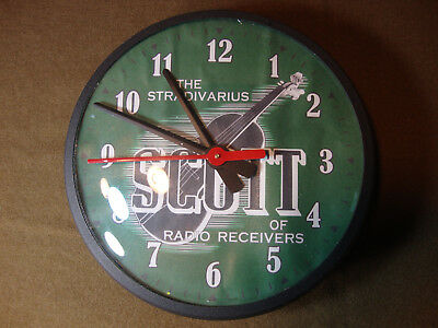E.H. Scott Radio – Custom Tribute Wall Clock