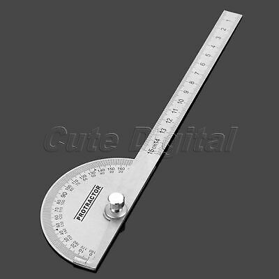 Angle Finder 0-180 Degrees Protractor & Arm Ruler Measuring Marking Angle Tool