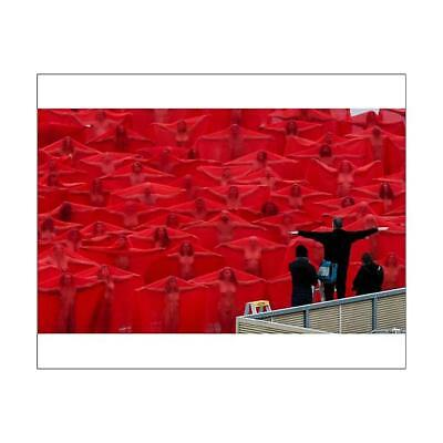 "10""x8"" (25x20cm) Print of SPENCER TUNICK NUDE INSTALLATION MELBOURNE"