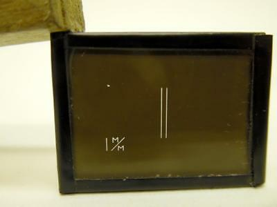 Vintage Young's Slits Glass Slide