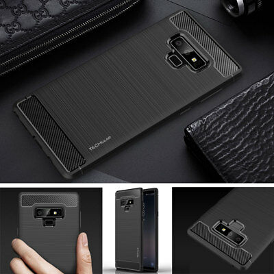 Premium Carbon Fibre Slim Shock Protective Case Cover for Samsung Galaxy Note 9
