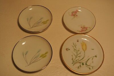 Lot of 4 Vintage German and Austria Butter Pats