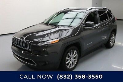 Jeep Cherokee Limited Texas Direct Auto 2018 Limited Used 2.4L I4 16V Automatic FWD SUV