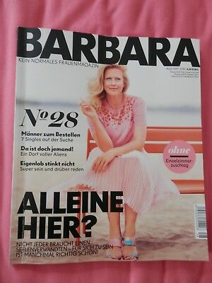 Barbara Schöneberger Magazin - Aktuelle Ausgabe August/september - Top