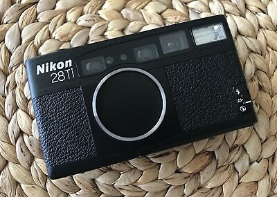 Nikon 28Ti Point And Shoot Mint