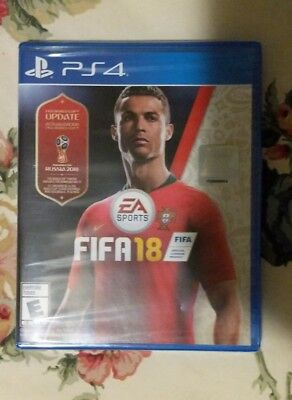 FIFA 18 [ FIFA World Cup Russia 2018 Update Edition ] (PS4) NEW