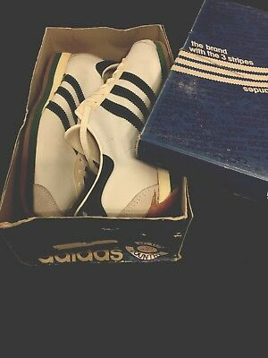 Adidas Vintage Sneaker from 70's New Old Stock - Country - 10 - RARE !!