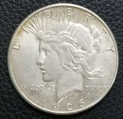 1926-S US Silver Peace Dollar - US Coins [SC167]
