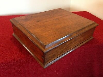 Antique,vintage Wooden oak box,ammunition box,Storage box.