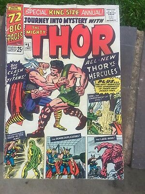 Journey Into Mystery The Might Thor 1965 Number 1 Additional