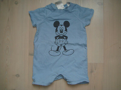H&M Schlafanzug Mickey Mouse Gr. 74 *LoOk