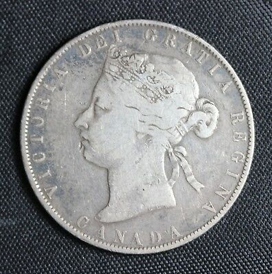 Canada  1871  Fifty Cents