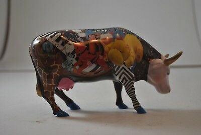 Cow Parade Babe in Toyland #7317 retired/rare 2002