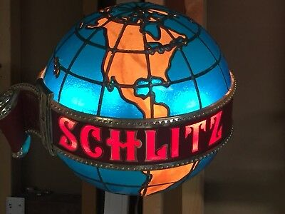 Antique Schlitz Beer sign / lighted